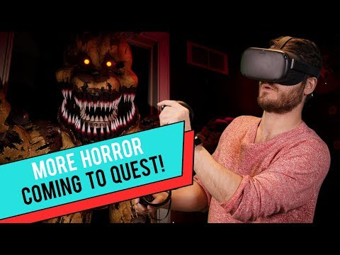 Oculus Quest Horror Games & Two-Handed Weapons - Let's Quest!