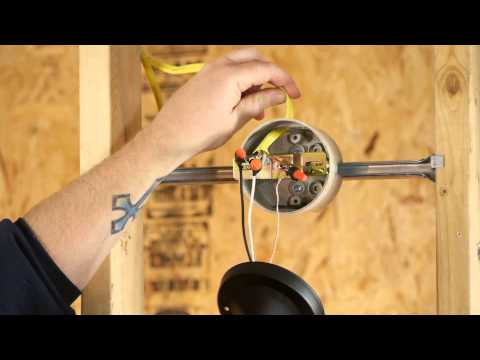 How to Install Switch-Controlled Light Fixtures : DIY Electrical Work