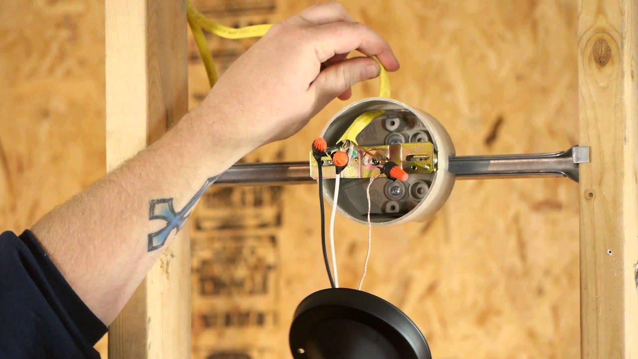 How to Install Switch-Controlled Light Fixtures : DIY Electrical ...