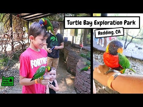 Turtle Bay Exploration Park In Redding, California