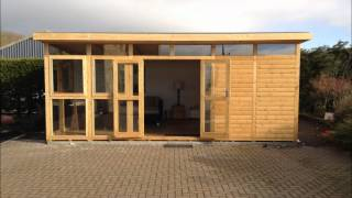 Ecohome Fully Insulated Logcabin/garden Room, Studio Space- Gym Or Home Office
