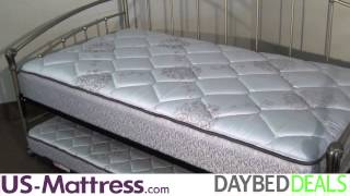 Fashion Bed Group Tuxedo Daybed With Free Mattress