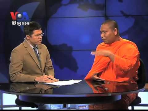 Despite Opposition, Activist Monk Continues His Work (Cambodia news in Khmer)