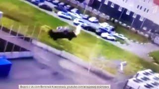 Житель Омска сделал двойное сальто на автомобиле.