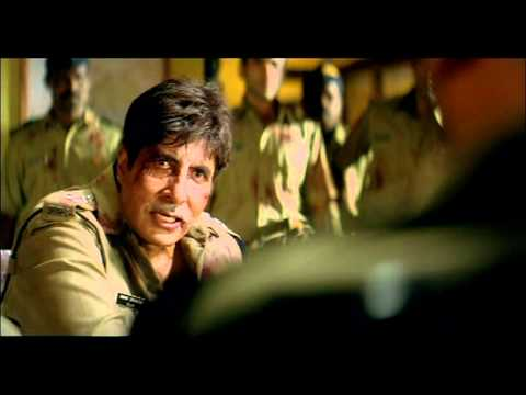 Bollywood Movie - Khakee Patriotic Scene - Amitabh Bachchan - Shekhar And Team Stands By ACP Anant