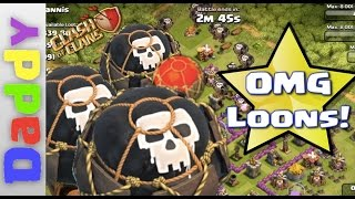 Clash Of Clans   ❤❤ LOONS❤❤   Balloon edition lonely troop series
