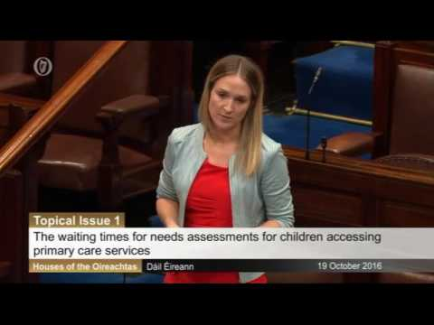 Gino Kenny TD on the assessment of needs for children in Dublin Mid West
