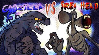 Siren head finds the orca from king of monsters, and uses it to become new alpha. godzilla does't take this standing still so its vs h...