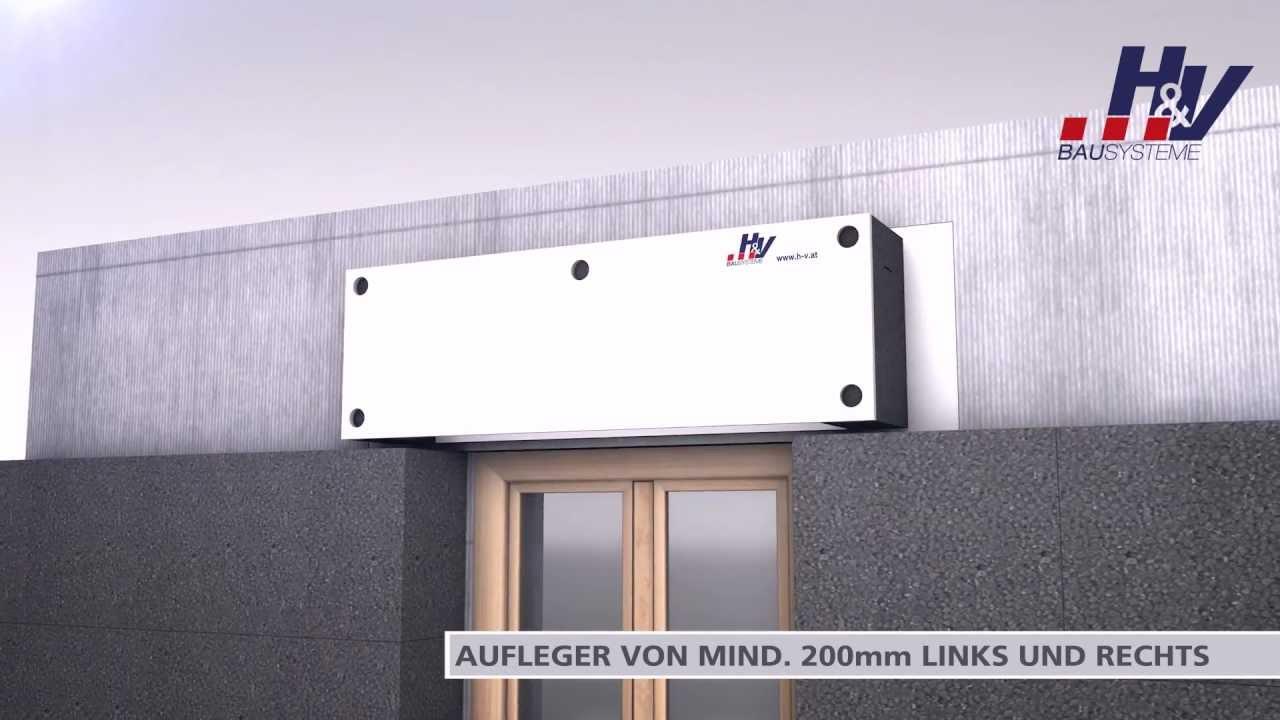 Wärmedämmung WDVS VERARBEITUNG, Fensterbank HuV Bausysteme ...