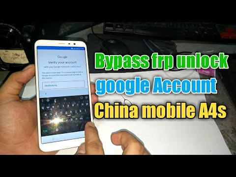 bypass-frp-unlock-google-account-for-china-mobile-a4s
