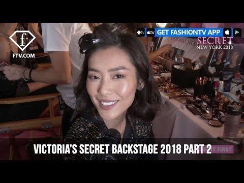 Liu Wen Backstage Victoria's Secret Fashion Show 2018 | FashionTV | FTV Mp3