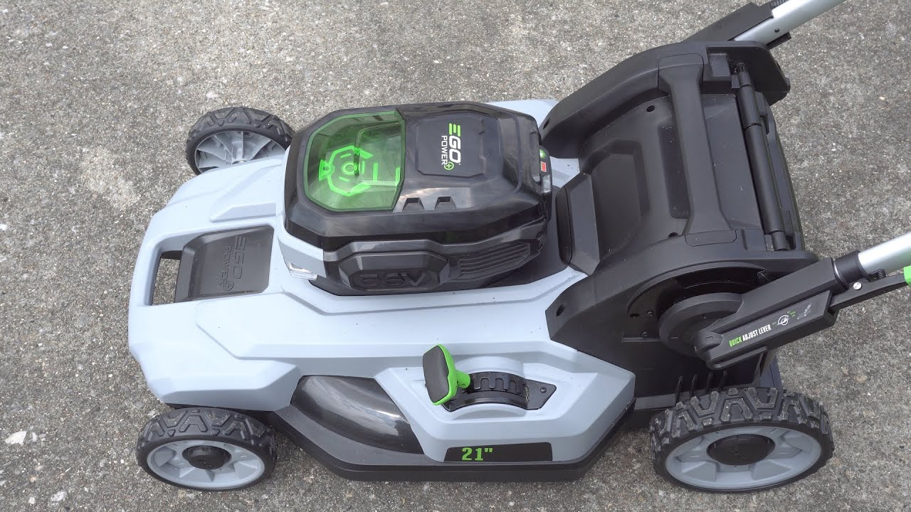 Review EGO Power battery powered mower