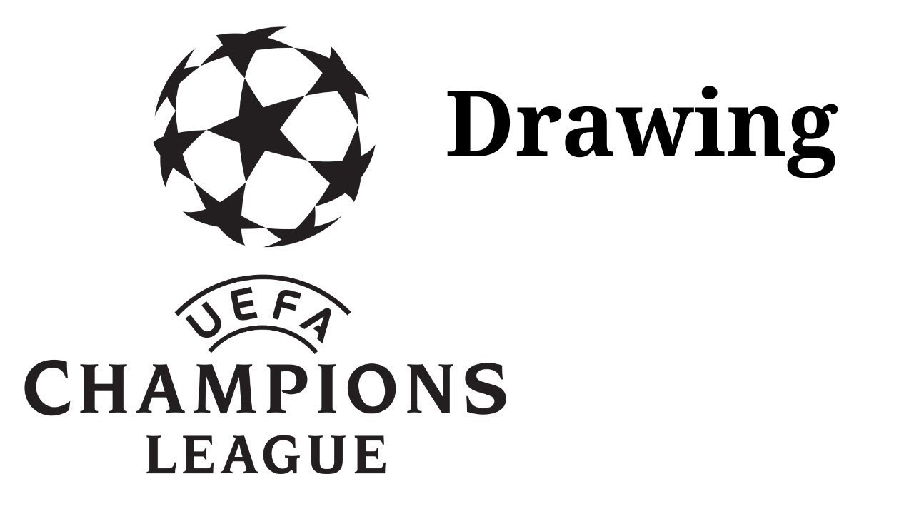 How to draw the logo of UEFA Champions League - YouTube