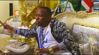 Governor Sonko working from his Machakos home