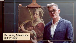Rare self portrait by Artemisia Gentileschi now on display