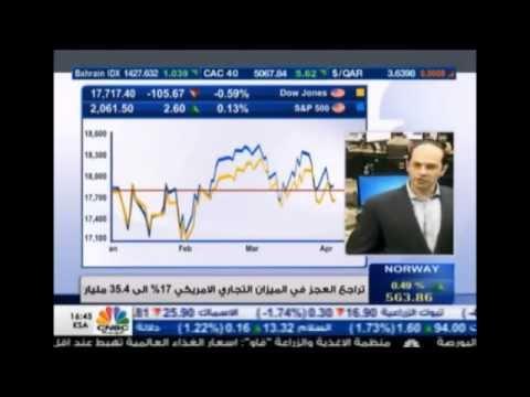 أشرف العايدي على قناة سي أن بي سي العربية - 2 أبريل 2015 Chart