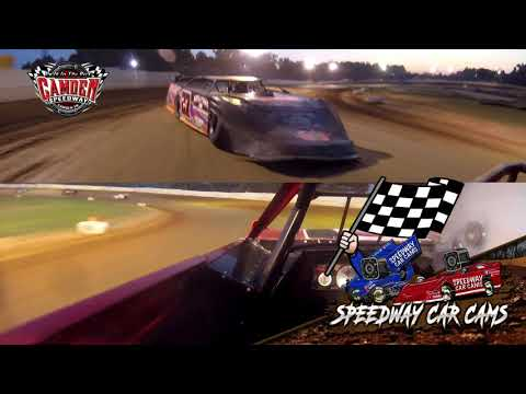 #75 Charlie Ray Howell - 602 Sportsman - 7-27-19 Camden Speedway - In-Car Camera
