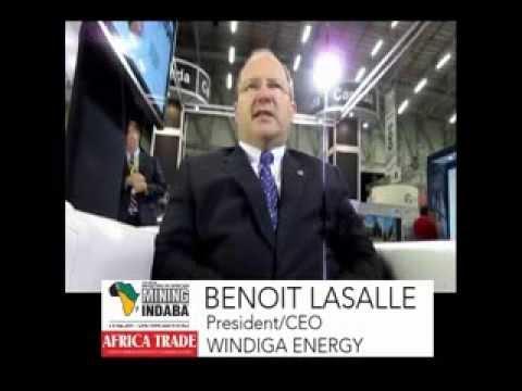 Benoit LaSalle - Windiga Energy - African Mining INDABA 2014