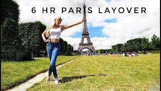 STOPOVER IN PARIS TO GET CROISSANTS