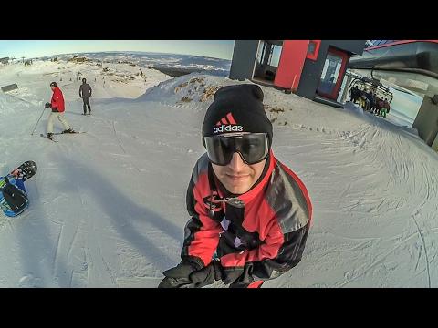 Jahorina skiing 29.01.2017.  (1080P 60fps)