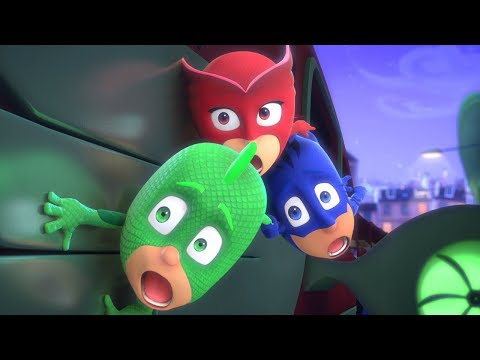PJ Masks Full Episodes - On The Train! - 1 HOUR EPISODE COMPILATION - Cartoons for Children