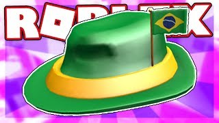 [FREE ITEM] How to get the INTERNATIONAL FEDORA - BRAZIL | Roblox