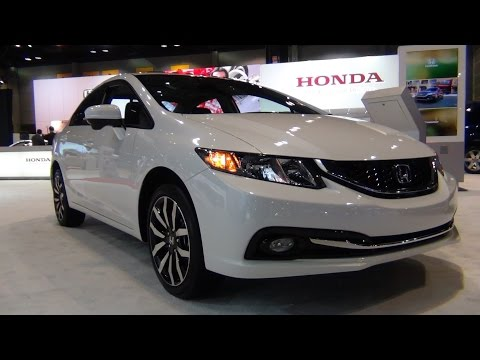 2015 Honda Civic EX-L - Exterior & Interior Tour