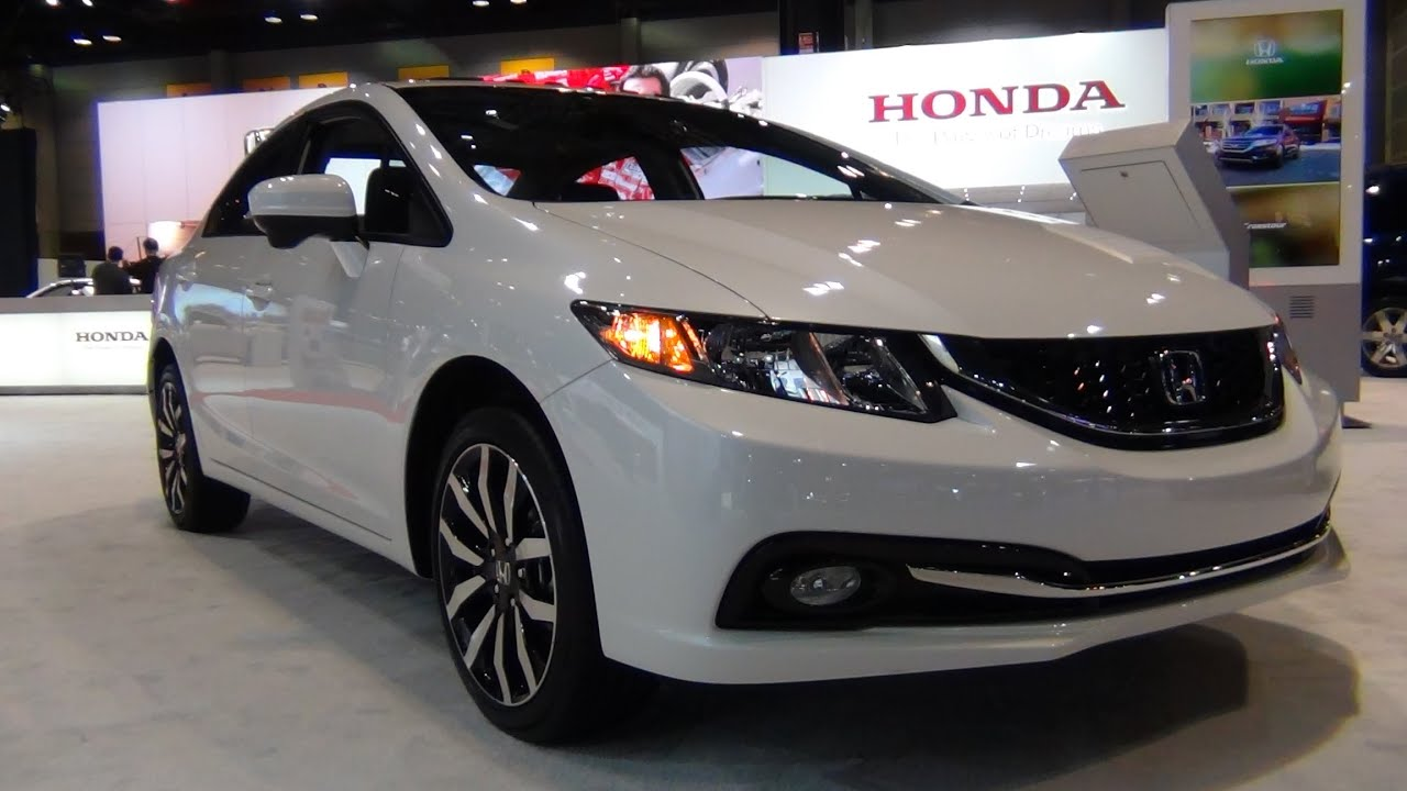 2015 Honda Civic EX L   Exterior U0026 Interior Tour   YouTube