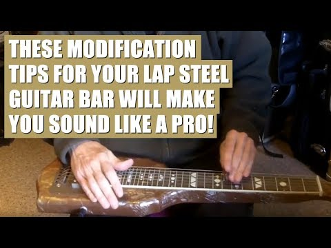 Lap Steel Guitar Tips and Instructions - The Bar