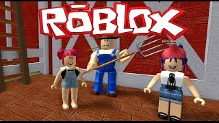 roblox   escape the evil farmer with nettyplays   amy lee33