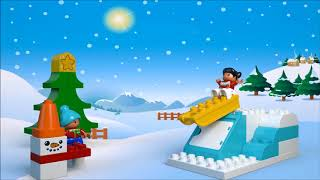 Smyths Toys - LEGO Duplo Santa's Winter Holiday 10837