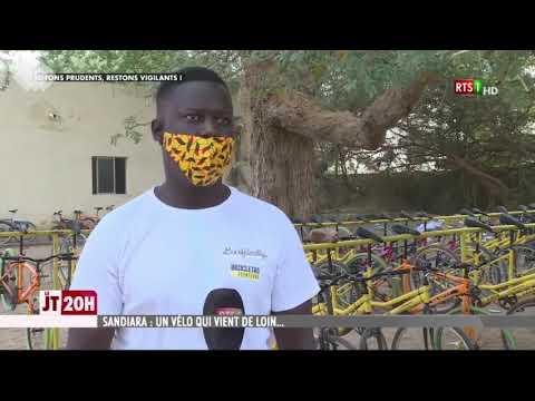 Reportaje emitido en la RTS de Senegal. Bicicletas para la Educación (febrero 2021)