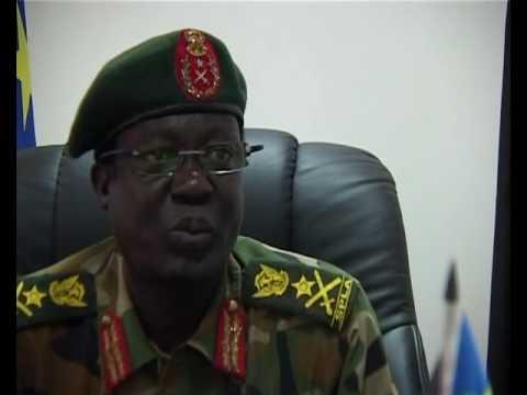Lt. Gen. James Hoth Mai, Chief of General Staff, SPLA