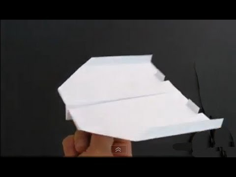 SUPER EASY..How to make cool paper airplane - No.3 - YouTube