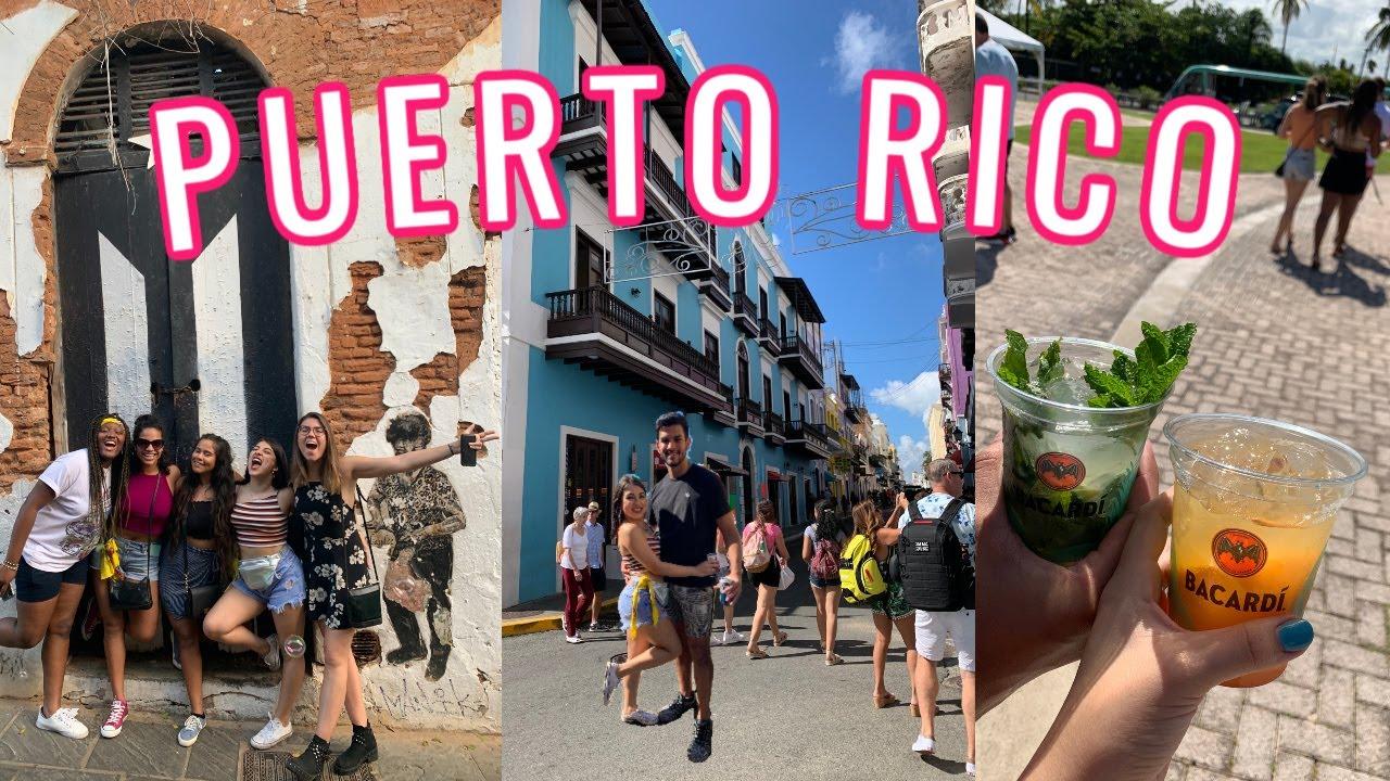 TRAVEL VLOG: 4 DAYS IN PUERTO RICO!