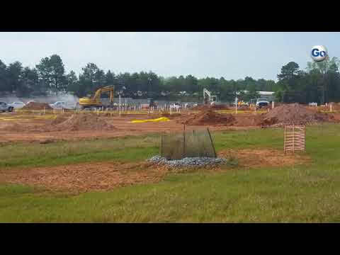 Construction work has started at the new Fairforest Middle School. The $52-million Spartanburg Distr