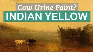 美しい黄色の原料は〇〇だった!? インディアンイエローのルーツに迫る
