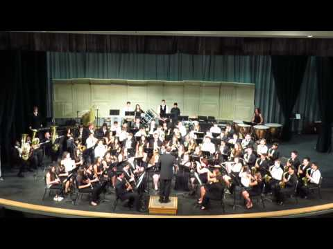 2014 SHS Symphonic Band playing Brookpark Overture by James Swearingen