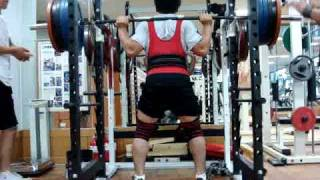James kim 210kg squat