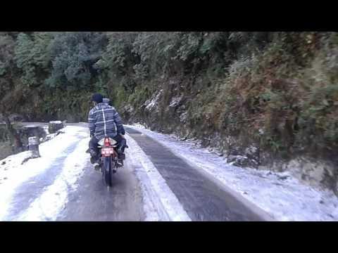 Adventerous ride to daman | Snowfall in Daman | nepal | 2017