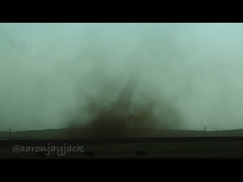Tornado Warned Monster Classic Supercell with Spouts & Gustnadoes Wheeler Texas