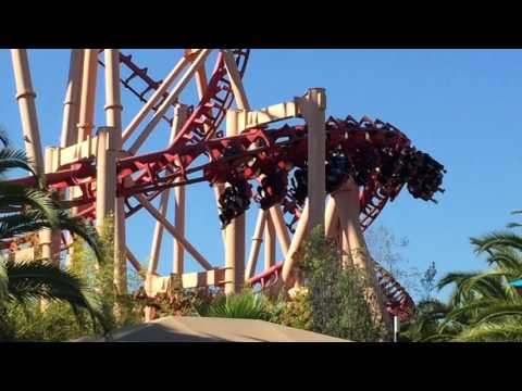 Kong at Six Flags Discovery Kingdom HD Offride Footage