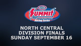 NHRA North Central Division Finals Sunday