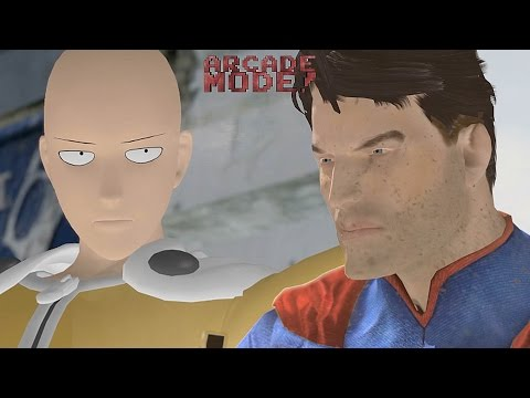 SAITAMA (ONE PUNCH MAN) vs. SUPERMAN | ARCADE MODE! [EPISODE 3]