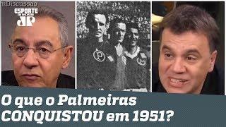 Há 68 anos, o Palmeiras ganhava o... Mundial? Flavio ZOA, e Mauro Beting DÁ AULA!