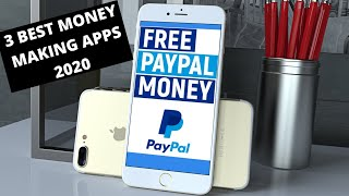 3 BEST Apps to MAKE MONEY in 2020 FROM YOUR PHONE!