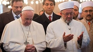 Anti-Pope Francis' Apostasy in the Blue Mosque