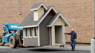 Nabholz Delivers Custom Playhouse to Ronald McDonald House