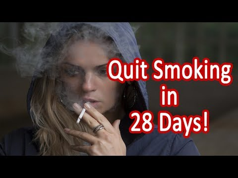 Natural Ways to Quit Smoking - 5 Steps to Quit Smoking in 28 Days!