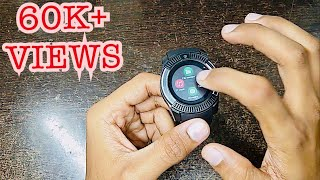 Unboxing of v8 4G smartwatch|full review|in Hindi